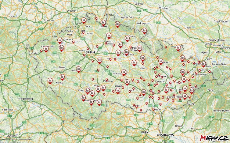 Mapa pálenic